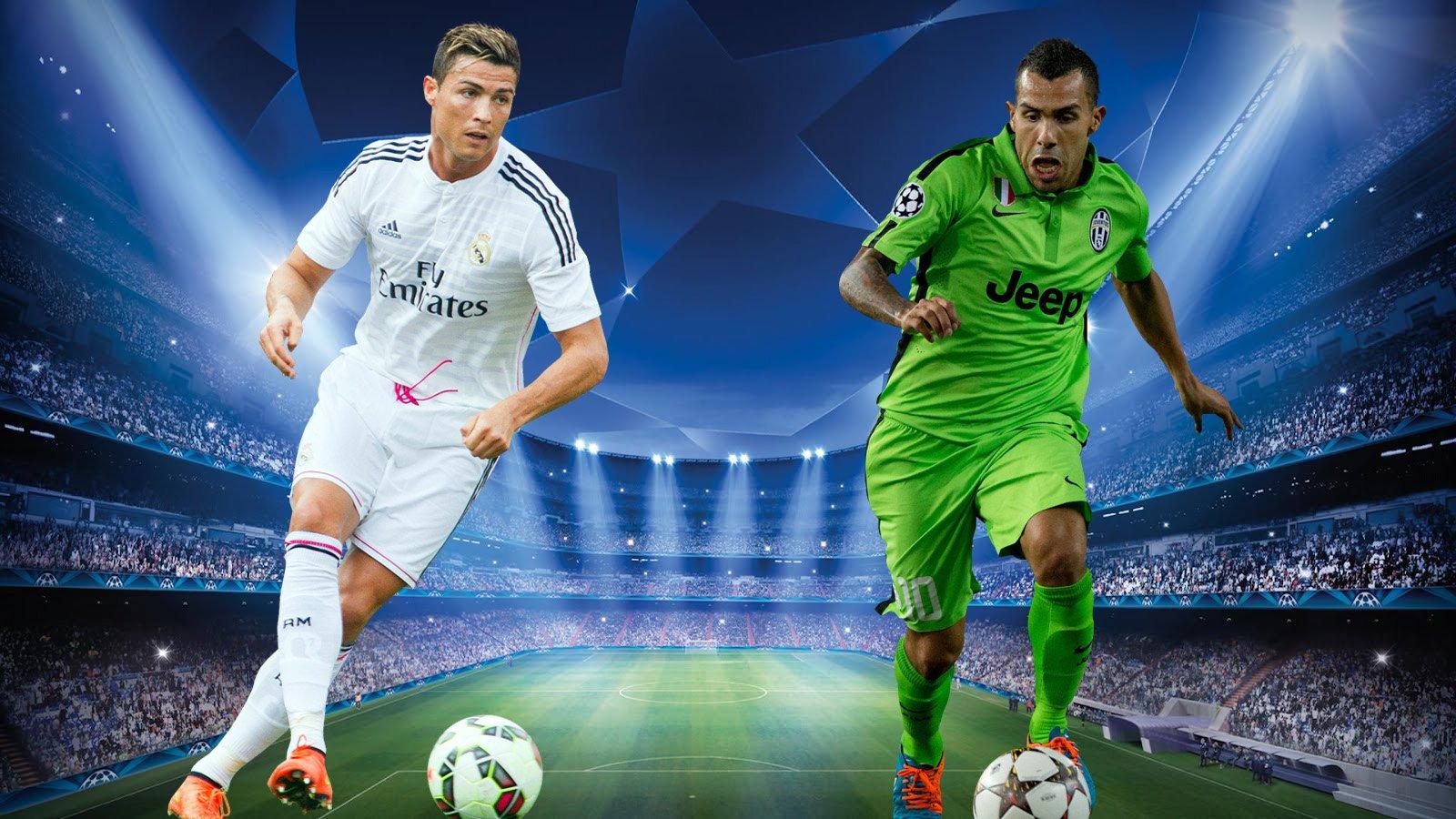Juventus Turin Vs Real Madrid