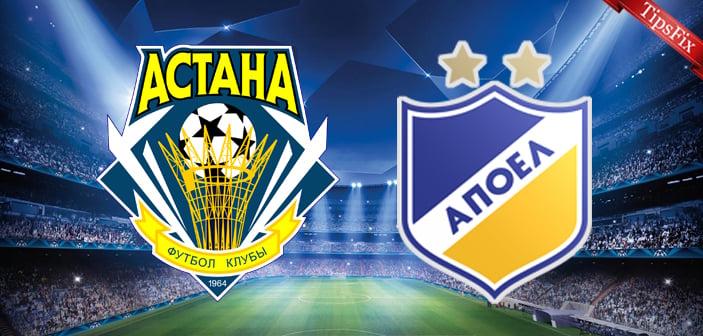 Pronostic FC Astana - APOEL