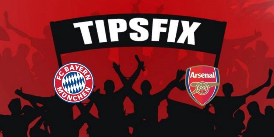 Bayern v Arsenal prediction