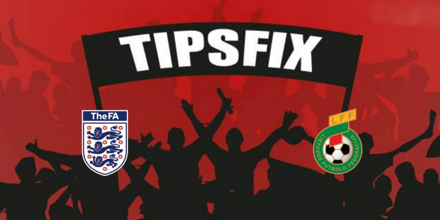 England vs Lithuania Prediction, Betting Tips and Preview